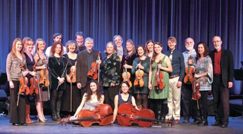 Some of the faces may change for Childsplay (shown here in 2012), including new singer Karan Casey but artistic director and namesake Bob Childs sees a lot of continuity in the group -- especially its core sound.