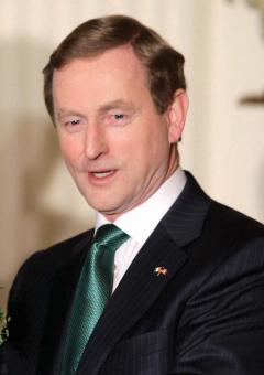 Enda Kenny: Will visit Boston to launch BC-Irish Business Council on March 14