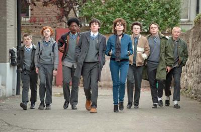 A scene from the film Sing Street. Photo courtesy of Sundance Institue.