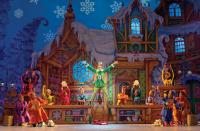"""Elf: Buddy The Elf spreads his holiday cheer in """"Elf The Musical,"""" playing The Citi Wang Theater from November 17 - December 6. Joan Marcus photo"""
