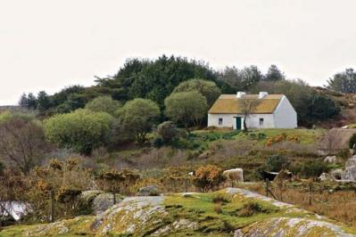 The site around Patrick Pearse's summer home in Connemara is about to undergo extensive development and will eventually include an interpretive center, entrance building, walking trail and more. Judy Enright photos