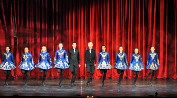 """Students from the Harney Academy of Irish Dance in """"A Little Bit Of Ireland"""" at Reagle Music Theatre, March 14 and 15.                           Photo courtesy of Reagle Music Theatre / Herb Philpott Photo."""