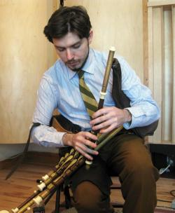 "Boston-based uilleann piper Joey Abarta will be part of the cast in the 2016 ""A St. Patrick's Day Celtic Sojourn."""