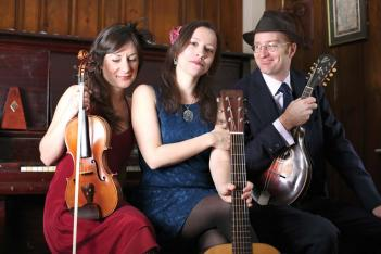 Low Lily: The trio Low Lily, formerly known as Annalivia, is (L-R) Lissa Schneckenburger, Liz Simmons and Flynn Cohen.   Andy Cambria photo