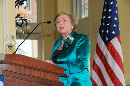 Fitzgerald speaks in Boston
