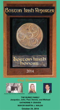 Boston Irish Honors 2014