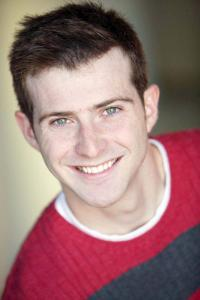 "Sean McGibbon plays Cosmo Brown in the beloved musical ""Singin' in the Rain"" at North Shore Music Theatre in Beverly from August 16 - September 4."