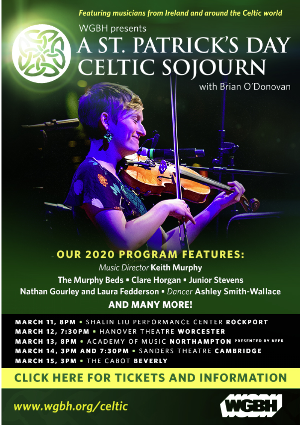 Christmas Celtic Sojourn 2020 A St. Patrick's Day Celtic Sojourn 2020 With Brian O'Donovan