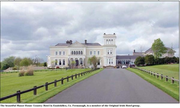 Enjoyment Reigns At Enniskillen S Manor House Country Hotel